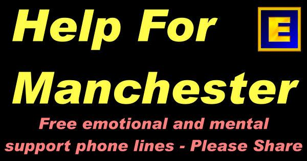 Help for Manchester - Free Emotional and Mental Support Phone Lines
